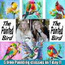 The Painted Bird Hop - The Art Sherpa and Ginger Cook
