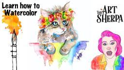 Watercolor Wednesday