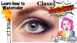 Bonus Watercolor How to Paint a Realistic Eye