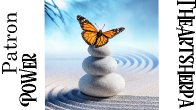 Power Patron Jan live stream Butterfly on Zen stones (links will be on your dashboard)