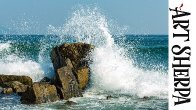 CRASHING WAVES ON ROCKS Beginners Learn to paint Acrylic Tutorial Step by Step