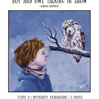 Narnia Boy and Owl Minibook