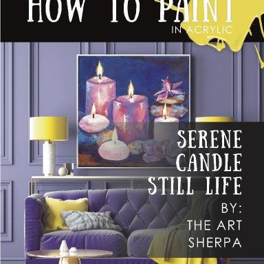 Purple Candle Minibook