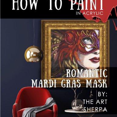 The Mardi Gras Mini book step by step guide
