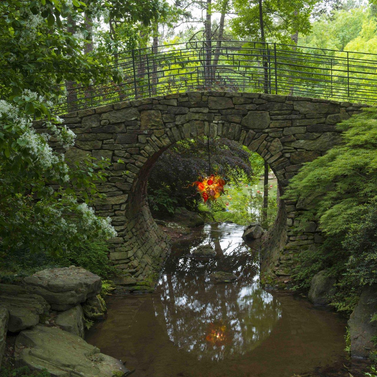 Garvan Gardens - Full Moon Bridge