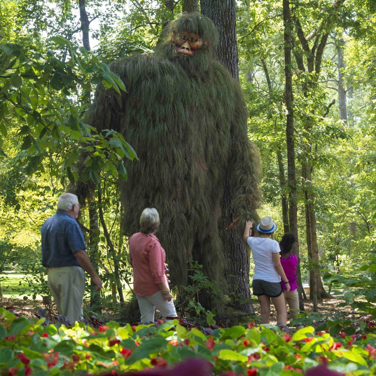 Garvan Gardens - Bigfoot