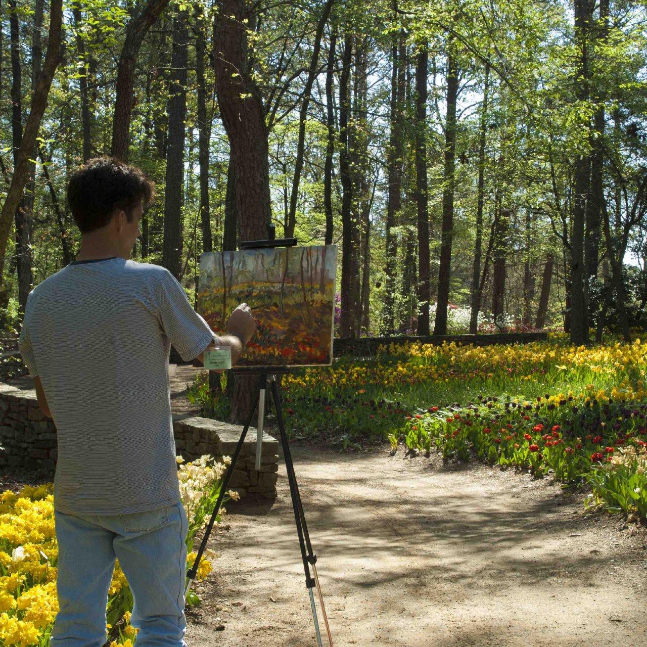 Garvan Gardens - Artist