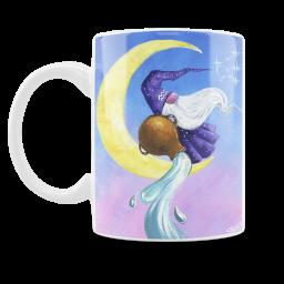 Star Gnome Aquarius Mug