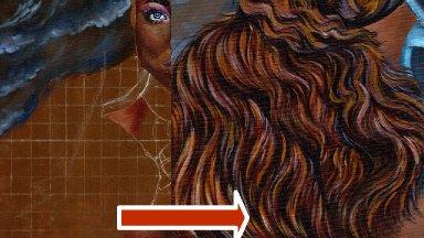 Live Stream painting class Part 4 warrior Queen  Oya Big art Quest fairytale    | TheArtSherpa