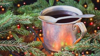 CALMING Glowing Winter Coffee Acrylic Tutorial Step by Step | TheArtSherpa