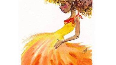 Sun Princess - Fierce Goddess Watercolor - IGTV