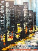 Free Paint Night A time of Rainy City Streets