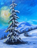 The winterscapes and Pines