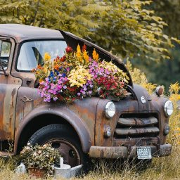 Vintage Rusted Truck