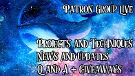 Patron (only) Group Live and Q & A