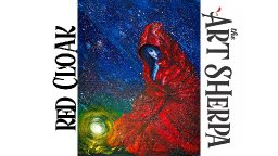 How to paint Acrylic on Canvas The Red Cloak Beginner Tutorial