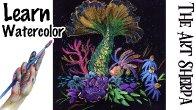 Watercolor Wednesday Mermaid Fairy Tale
