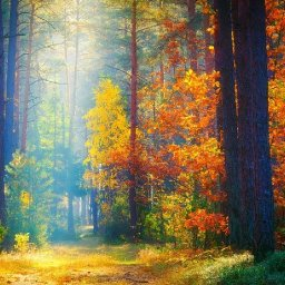MISTY AUTUMN FALL FOREST PATH  Beginners Learn to paint Acrylic Tutorial Step by Step