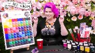 tine tone shade color chart step by step
