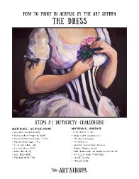 How to paint the Dress Jan 2021