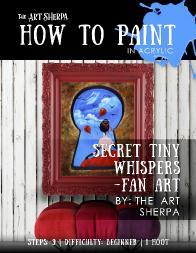 Tiny Secret Whispers Fan Art Mini Book