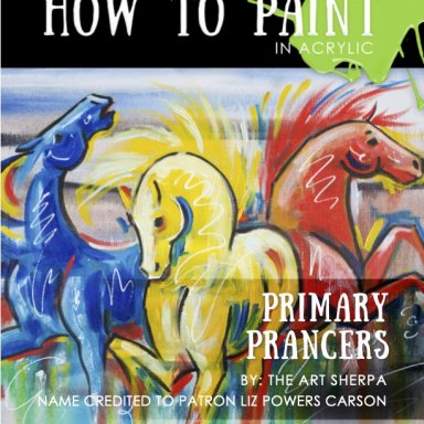 Primary horses Step  by step Mini Book