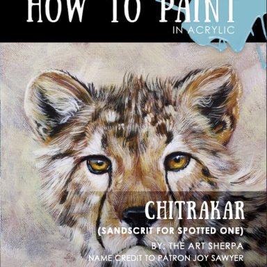 Cheetah Face minibook June 2021