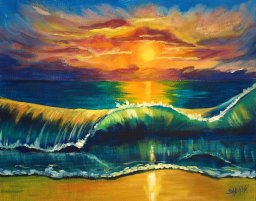 TAS170812.01 - Tropical Beach Wave at Sunset 72dpi.jpg