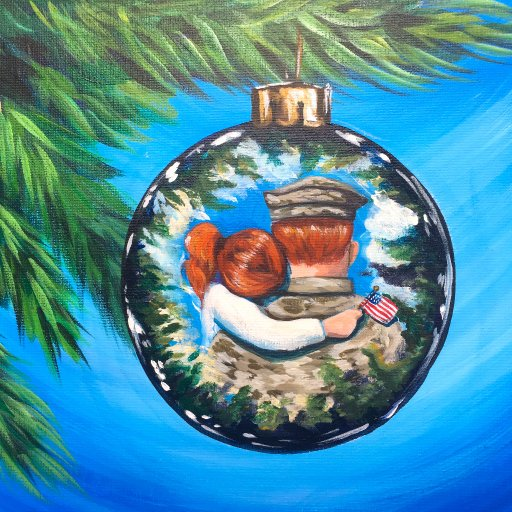 Reflection on a Christmas Ornament The Art Sherpa