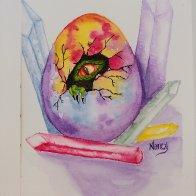 LOTR watercolor Dragon Egg
