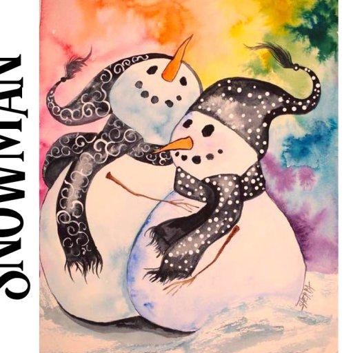 snuggle snowman