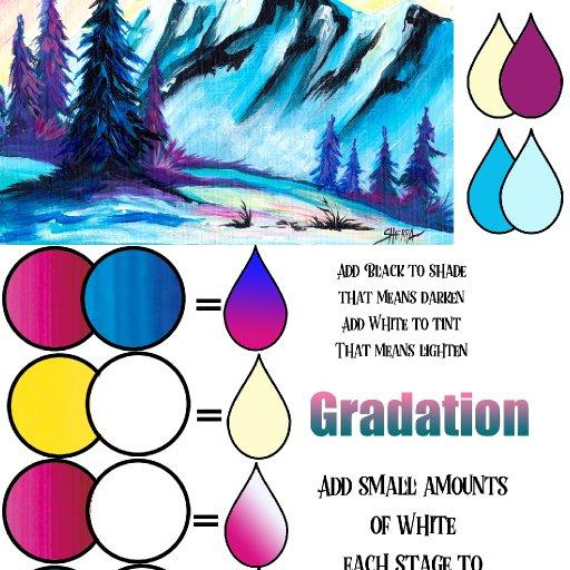 mountain color mix