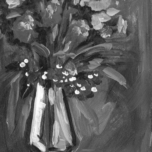 tall vase grey scale