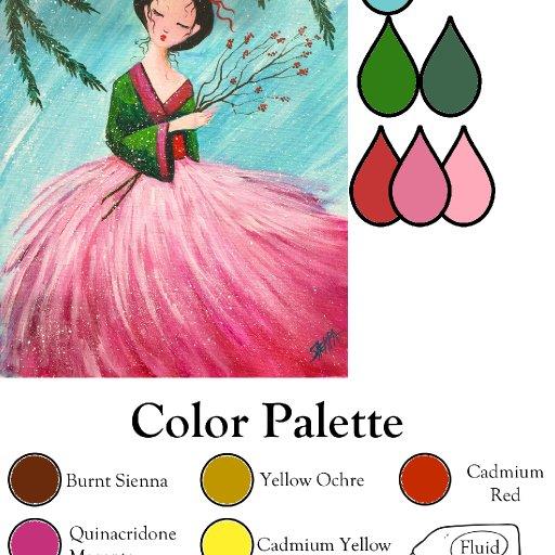 maiden palette