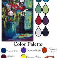 Color palette window Flower