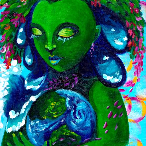 Earth Mother Blooming