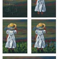 blue bonnet step by step