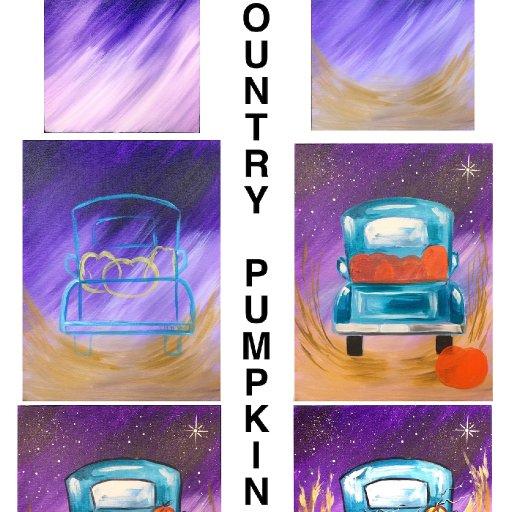 step by step Country Pumpkin  copy