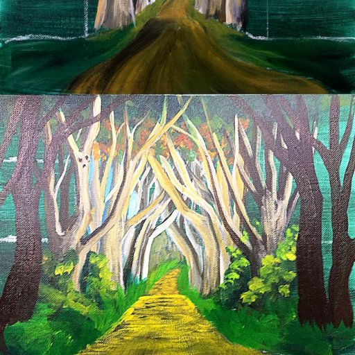 step by step Yellow Brick road  copy