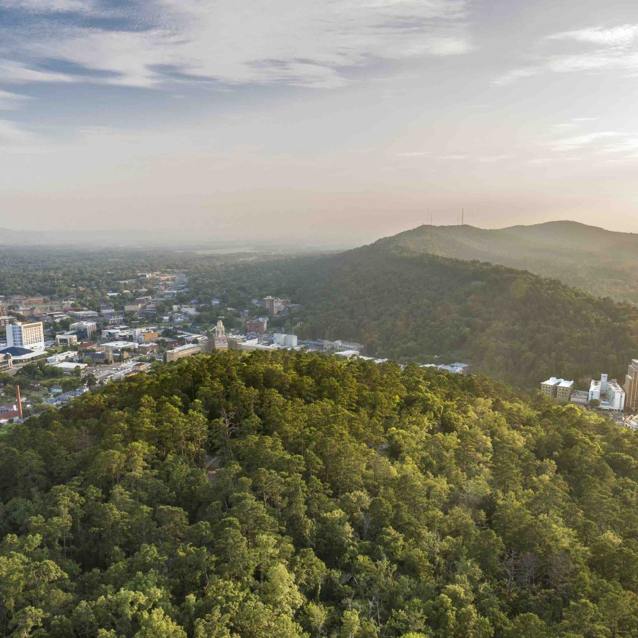 Aerial - Hot Springs, Arkansas copy