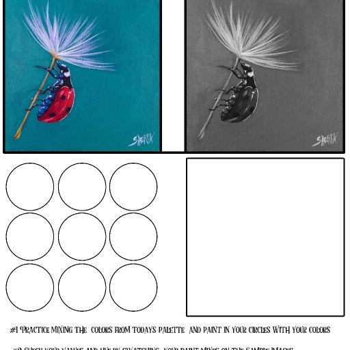 worksheet acrylic april #2