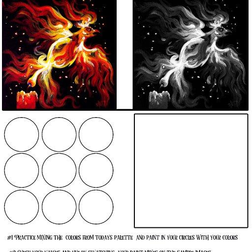 worksheet acrylic april #3