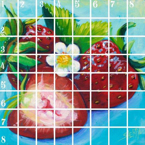 Acrylic April grid day 10 copy