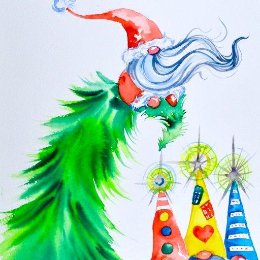 Christmas Tree Gnomes 06