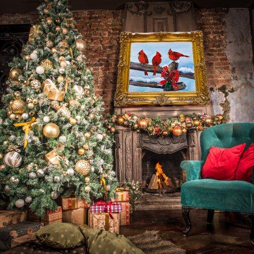 SnowBirds christmas room  copy
