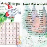 festive wordsearch