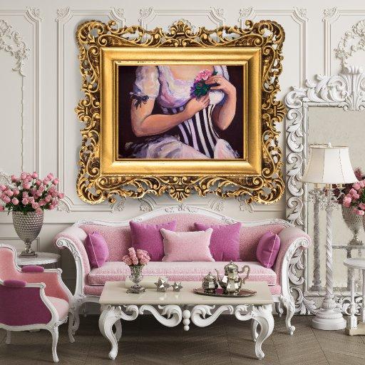 wall image corset