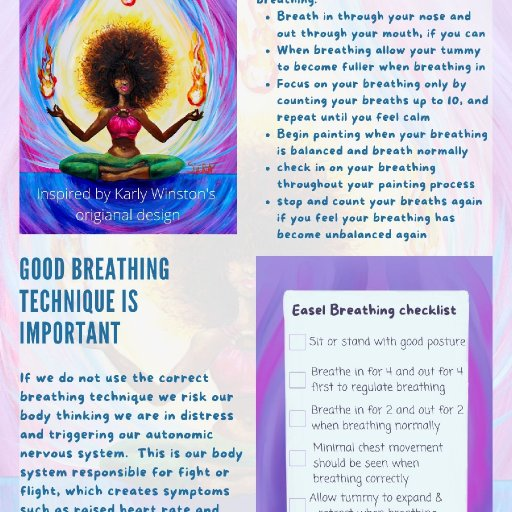 easel breathing sheet