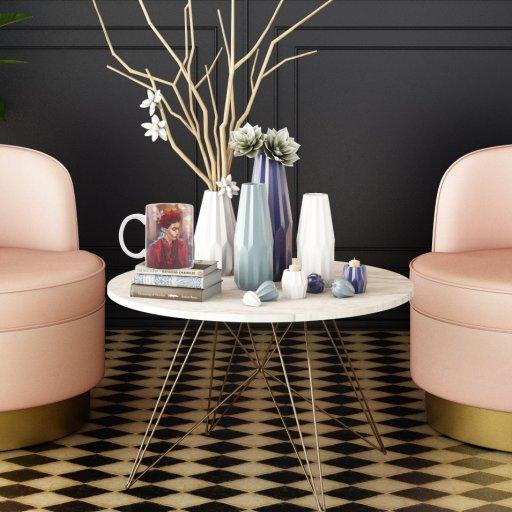 frida mug on table