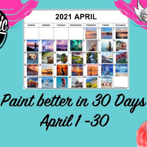 facebook event banner acrylic april